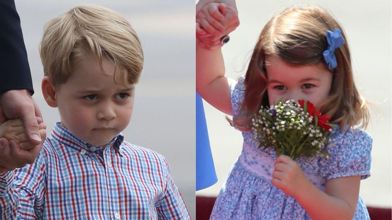 Książę George I Księżniczka Charlotte Dostali W Polsce