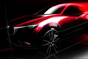 Salon Los Angeles 2014 | Mazda CX-3 | Nowy konkurent Juke'a