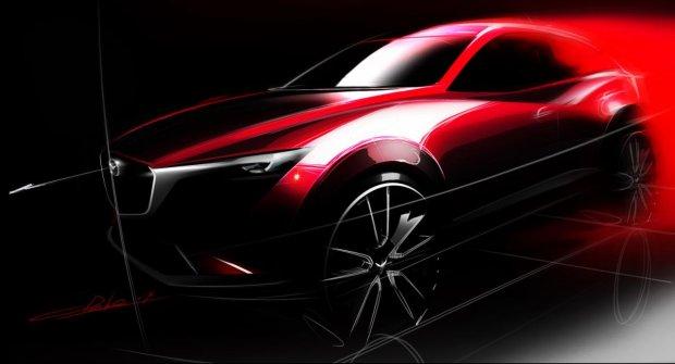 Salon Los Angeles 2014 | Mazda CX-3 | Nowy konkurent Juke'a