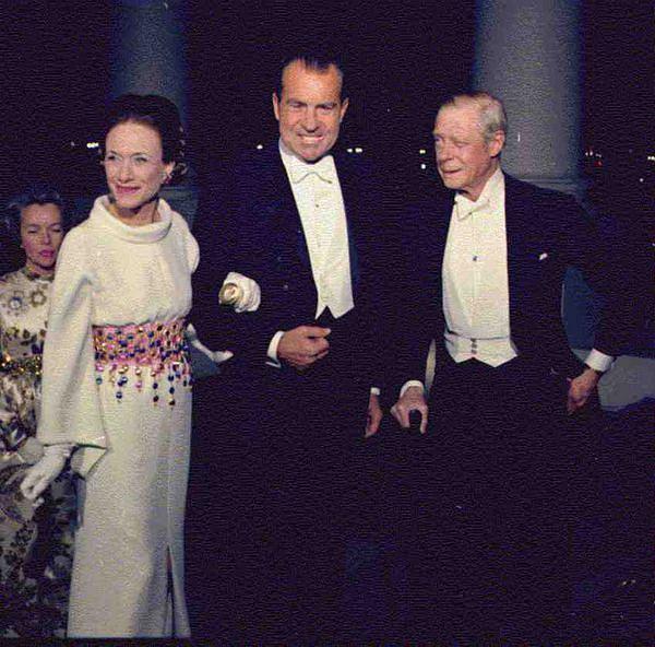 Znani mężczyźni, którzy oszaleli z miłości: prezydent Nixon z Edwardem i Wallis