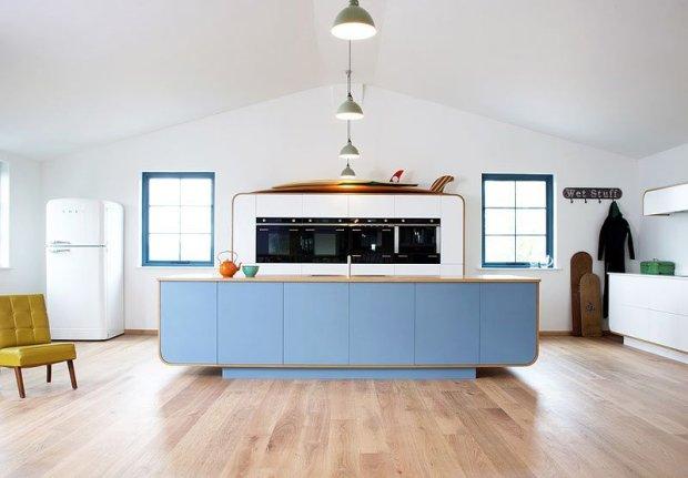 Współczesna retro kuchnia. Air Kitchen, producent: deVol
