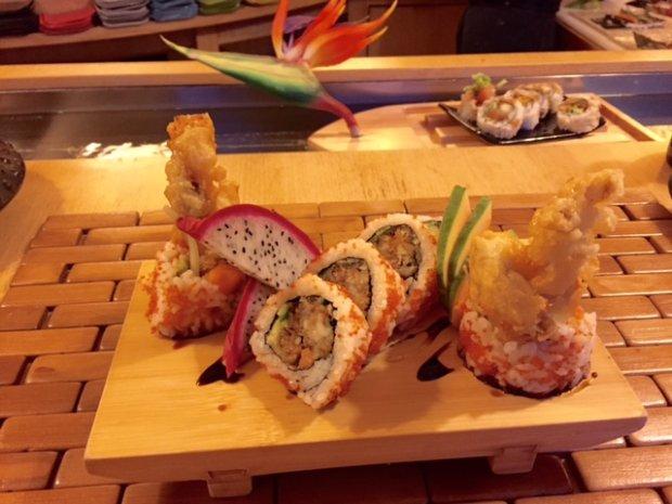 Spyder Sushi w Domu Sushi