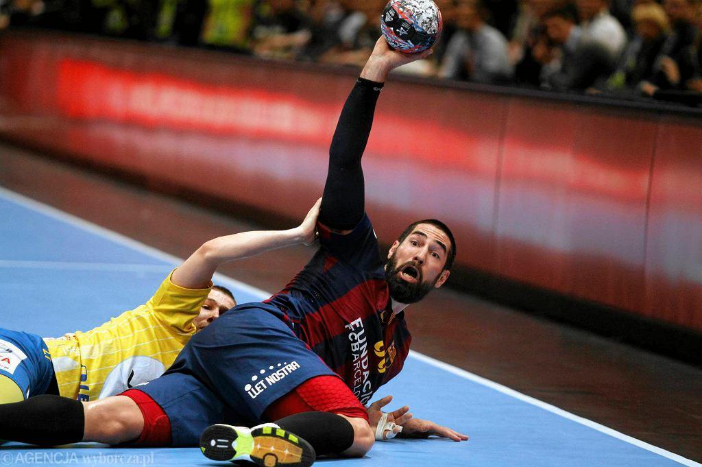 Kolonia, Niemcy. Final Four Velux EHF Ligi Mistrzów. Nikola Karabatić