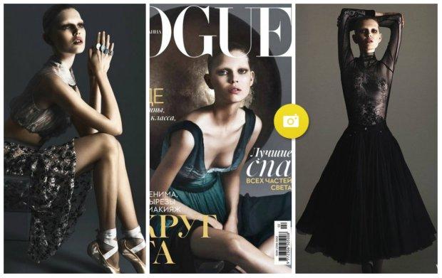 Ola Rudnicka dla ukrai�skiego Vogue'a