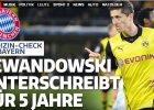 Bundesliga. Lewandowski przeszed� testy medyczne. Bild: Dzi� podpisze pi�cioletni kontrakt
