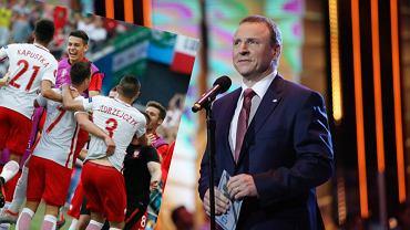 Mecz Polska-Irlandia Północna i prezes TVP Jacek Kurski
