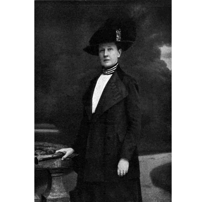 Cecylia Plater-Zyberkówna, 1913 rok (fot. autor nieznany / Wikimedia Commons / public domain)