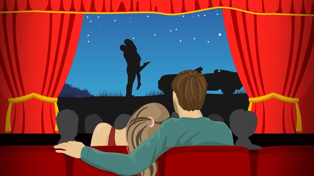 Filmy romantyczne oglądamy bardzo chętnie. Jakie są nasze ulubione?