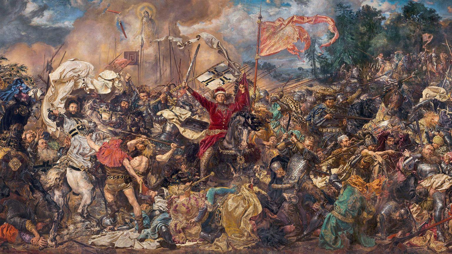 ''Bitwa pod Grunwaldem'', Jan Matejko