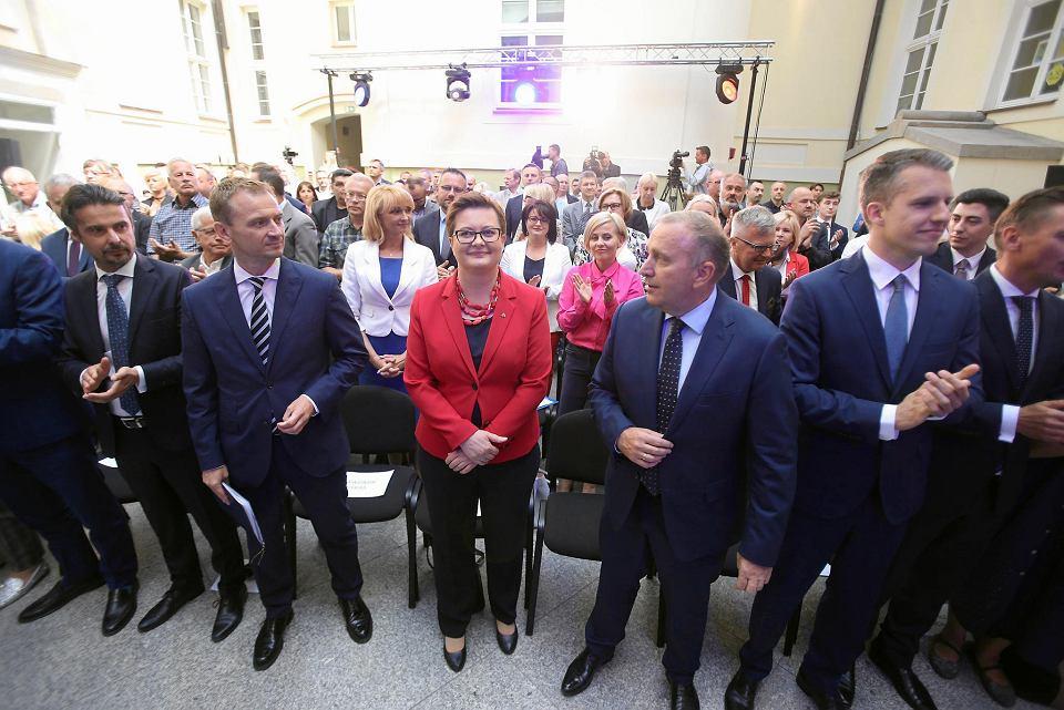 Prezentacja wspólnych kandydatów PO i Nowoczesnej na prezydentów i burmistrzów