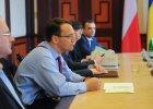 Minister Radosław Sikorski odwiedził dwie Ukrainy