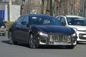Prototypy   Maserati Ghibli   Czas na facelifting