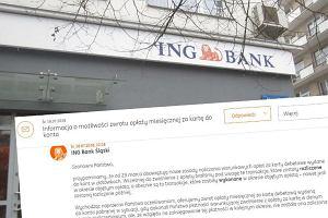 ING Bank Śląski zwraca opłaty za karty do konta. Masz dwa miesiące na złożenie reklamacji