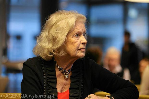 Beata Tyszkiewicz wyzna�a, �e mia�a raka trzustki. Pokona�a chorob� ponad 20 lat temu