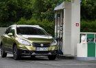 Suzuki SX4 S-Cross 1.6 DDiS 4WD Elegance | Test d�ugodystansowy cz. V | Na stacji paliw