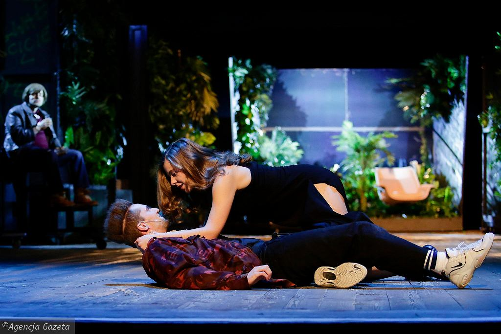 Próba spektaklu 'Vernon Subutex ' w reżyserii Wiktora Rubina  / JAKUB WŁODEK
