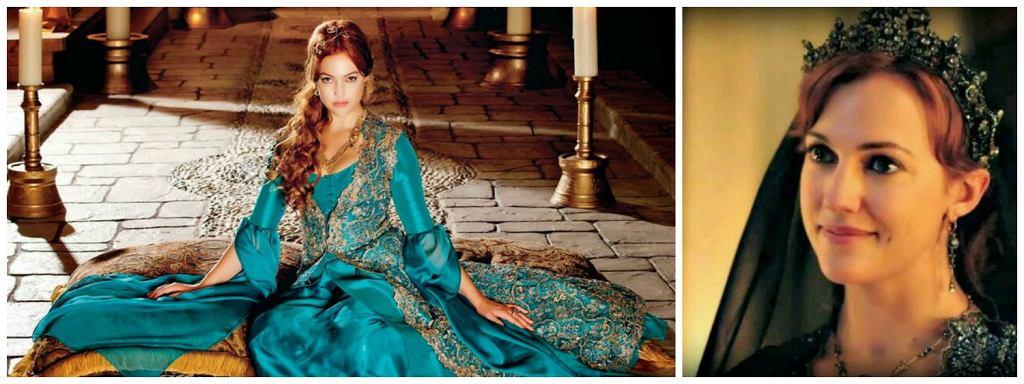 W serialu ''Wspaniałe stulecie'' w rolę Roksolany wcieliła się Meryem Uzerli (fot. materiały prasowe)