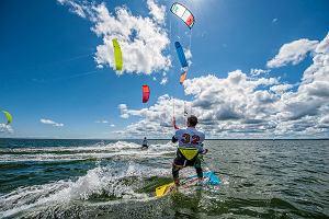 Ruszyły zawody Pucharu Polski w kitesurfingu