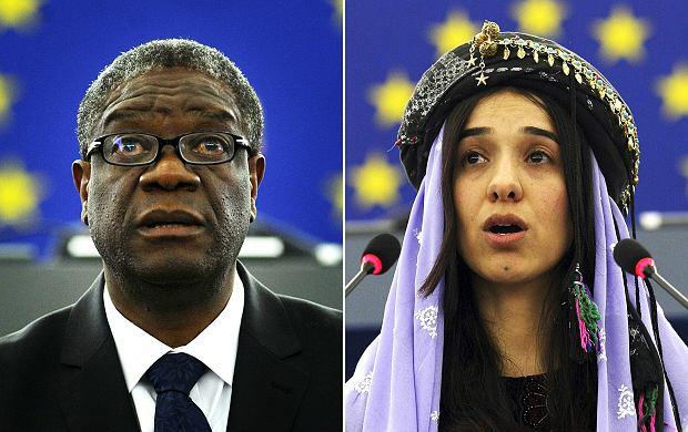 Denisa Mukwege i Nadii Murad