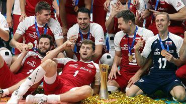 Mistrzostwa świata w siatkówce 2018. Polacy po dekoracji