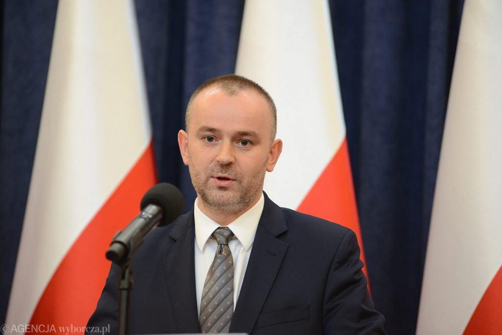 Zastępca szefa Kancelarii Prezydenta RP Paweł Mucha.