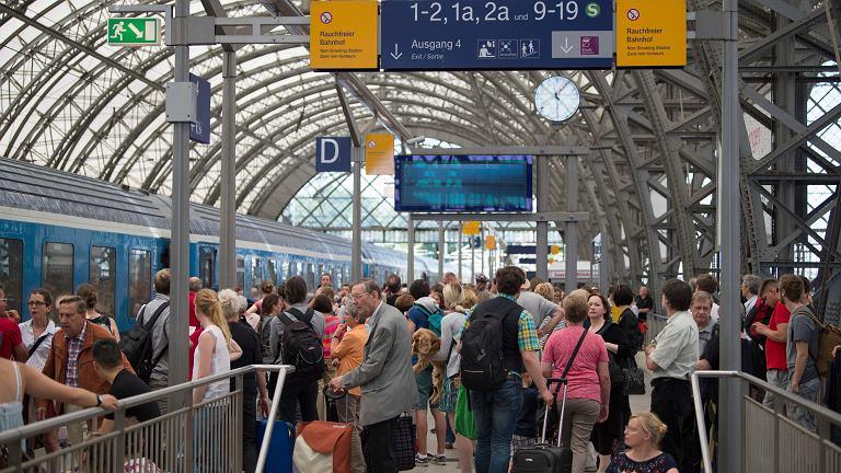 Podpalenia na niemieckiej kolei