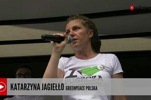 Cukierki od ministra Szyszki. Marsz dla Puszczy Białowieskiej w Warszawie