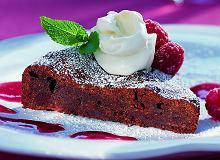 Kleiste ciasto czekoladowo-malinowe - ugotuj