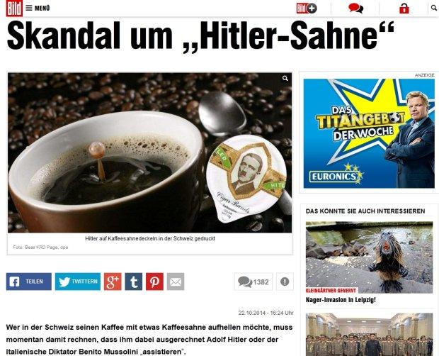 �mietanka do kawy z Hitlerem. Producent: to dla kolekcjoner�w