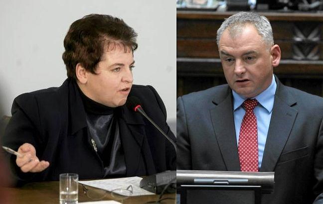 Marzena Wróbel i Artur Dębski