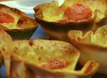 Minipizze z tortilli - ugotuj