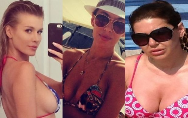 Bez retuszu i specjalnej bielizny, za to w bikini. Te gwiazdy pokaza�y na Instagramie, jakie naprawd� maj� cia�a
