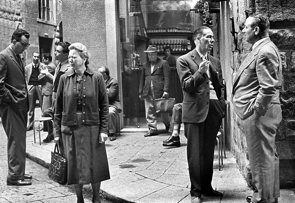 / Wojciech Plewiński, z cyklu 'Italia', Wenecja 1957, dzięki uprzejmości artysty
