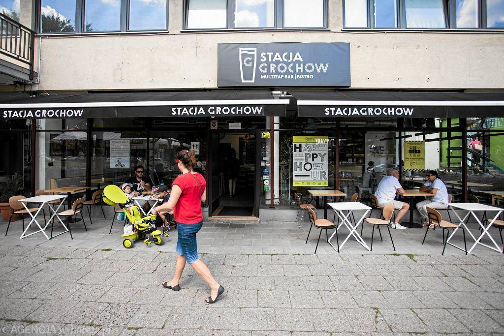 Restauracja Stacja Grochów, ul. Grochowska 178/184  / ADAM STĘPIEŃ