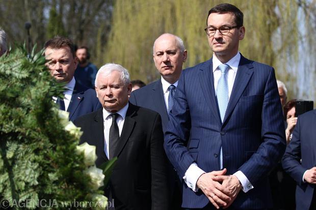 Zdjęcie numer 1 w galerii - Morawiecki na naradzie u Kaczyńskiego. Spotkanie w domu prezesa PiS trwało do późnej nocy