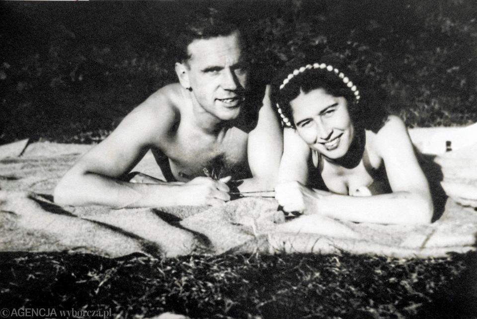Hanka i jej przyszły mąż Alfred Palarczyk