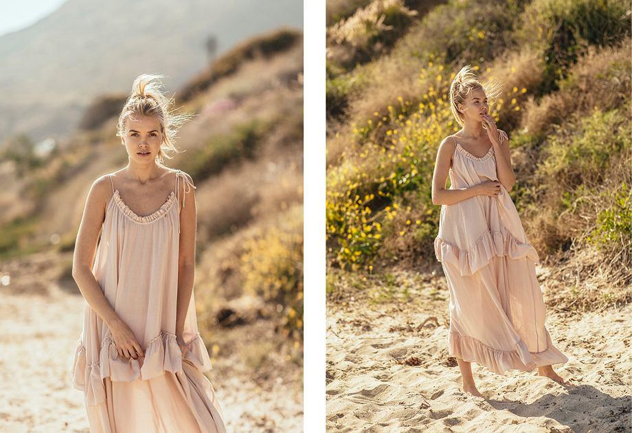 Bizuu MER 2018 - sukienka w kolorze pudrowego różu
