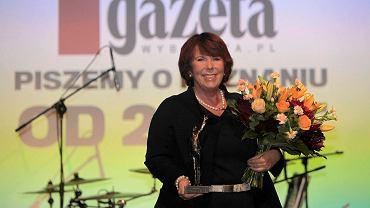 Solange Olszewska - Gigant 2015 Gazety Wyborczej Poznań. 25 lat Gazety Wyborczej Poznań - gala w starym dworcu Poznań Główny