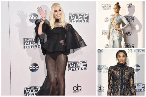 American Music Awards - stylizacje Jennifer Lopez, Gwen Stefani, Seleny Gomez, Ciary i Celine Dion robiły wrażenie [DUŻO ZDJĘĆ]