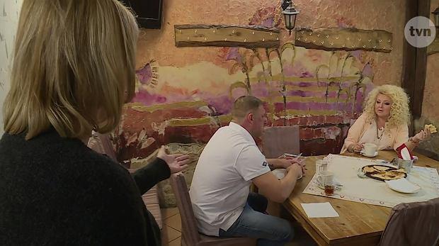 Kadr z programu 'Kuchenne rewolucje'