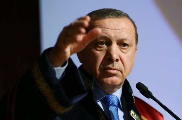 Prezydent Turcji Recep Erdogan