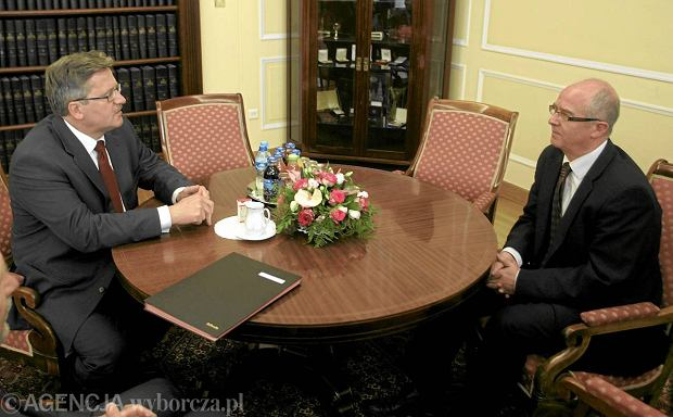 Bronis�aw Komorowski i Andrzej Seremet
