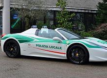 Ferrari 458 Spider| Od gangsterów do policji