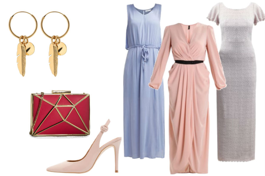 090937f5e3db długa sukienka na wesela w pastelowych kolorach   kolaż   materiały partnera