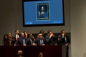 Obraz Leonarda da Vinci sprzedany za 450 milionów dol. Tajemniczy kupiec nabył go przez telefon