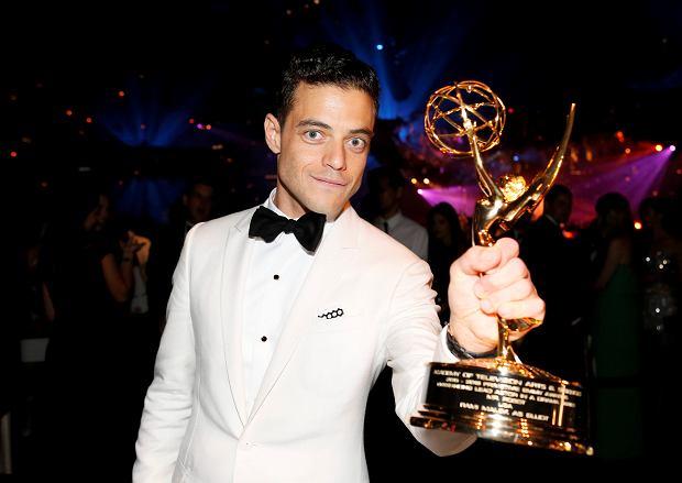 Nagrody Emmy 2016: Najlepszy aktor pierwszoplanowy w serialu obyczajowym Rami Malek (Elliot w 'Mr. Robot')