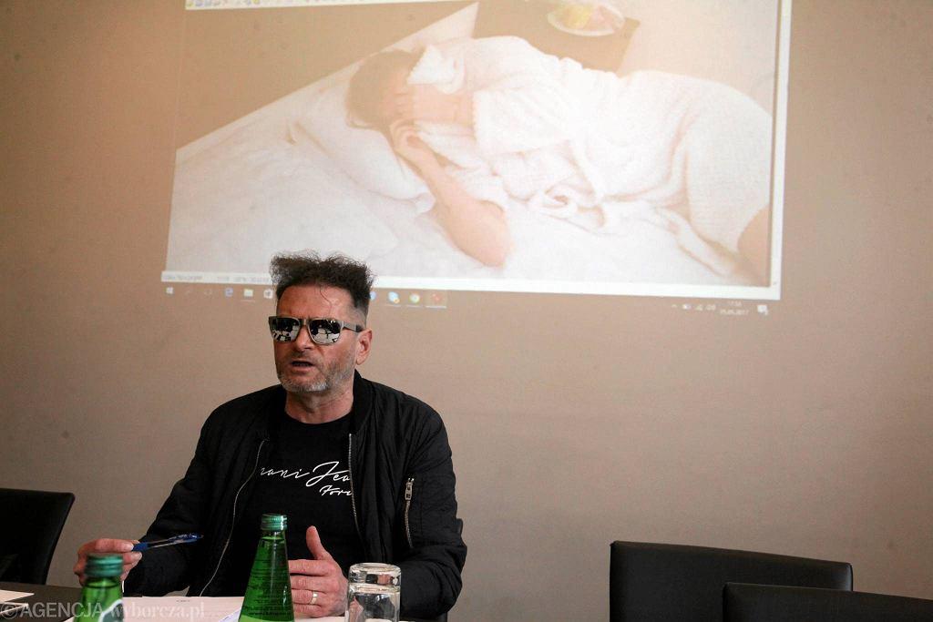 Krzysztof Rutkowski robi show po śmierci Magdy Żuk