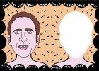 Nicolas Cage, ucz�c, bawi. W ksi��eczce dla dzieci
