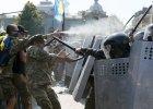 Szturm na parlament w Kijowie, s� ofiary �miertelne. Demonstruj�cy chc� dymisji Poroszenki