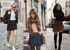 Jesienne wariacje z mini spódniczką - jak ją nosić w tym sezonie